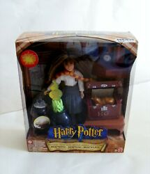 Harry Potter Magic Powers Hermione Doll With Magic Trunk And Wand In Box Mattel