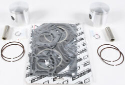 Wiseco 75.50mm Piston Kit W Top End Gaskets For Kawasaki Js 550 Reed Valve 91-96