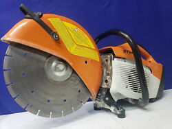 Very Nice Stihl Ts 420 Concrete Saw Excellent Condition