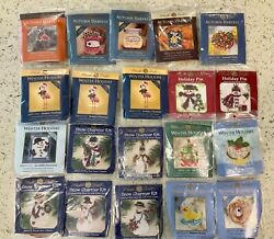 Mill Hill Counted Cross Stitch Kits w BEADS amp; CHARM; YOU CHOOSE HOLIDAYTREE