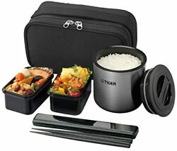 Tiger Thermos Heat Insulation Lunch Box Stainless Steel Lunch Jar Tea Bowl Appr