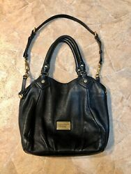 Marc Jacobs Crossbody Women#x27;s Bag Black Leather Pre Owned $50.00