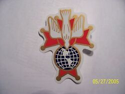 Knights Of Columbus - 4th Degree Decal 3 1/4
