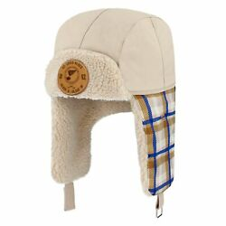 St. Louis Blues Fanatics Branded Outdoor Play Plaid Trapper Hat - Natural