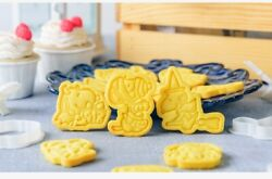 Set Of 6pcs 3d Halloween Snoopy Cookie Molds, Trick Or Treat, Cookie Cutters