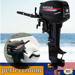 18hp Outboard Motor Engine 2 Stroke Fishing Boat Cdi Water Cooling System 13.2kw