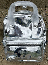 Disney Mickey Mouse Icon Sliver Flair Backpack Limited Edition Nwt