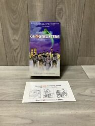 Brand New Factory Sealed Ghostbusters Vhs Tape Seal Not Broken See Pics