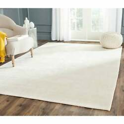 Safavieh Couture Hand-knotted Tibetan Maguy Modern Wool Rug Ivory 9' X 12'