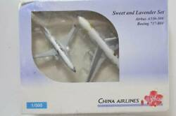 Herpa Wings 500 China Airlines Sweet Lavender 516747 Sweets