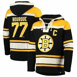 Ray Bourque Boston Bruins '47 Retired Player Name And Number Lacer Pullover Hoodie