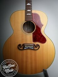 2008 Gibson Sj-150 Super Jumbo Electro Acoustic Natural And Gibson Hard Case
