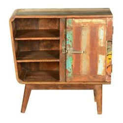 Made To Order Avalon Indian Reclaimed Wood Open Shelf Freestanding 80x40x80 Cm