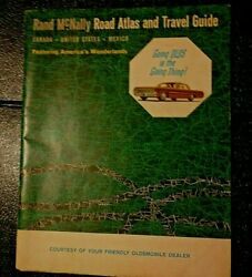 1963 Rand Mcnally Road Atlas United States Canada Mexico Travel Guide Vintage