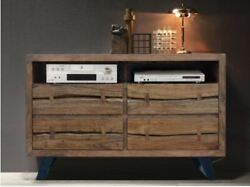 Made To Order Indian Loft Chest Of Drawers Nature Line Acacia Light 145x45x90