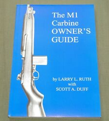 M-1 Carbine Owner's Guide Us Ww2 Inland Winchester Rock-ola Gun Reference Book