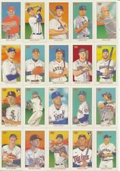 2021 Topps 206 T206 WAVE 6 SINGLES Card #s 1 50 IN HAND U Pick From List