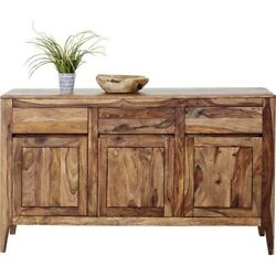 Boston Taper Contemporary Solid Wood Sideboard Hutch Buffet Made To Order