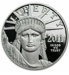2011-w American Eagle Platinum 1 Oz Proof Coin From Us Mint