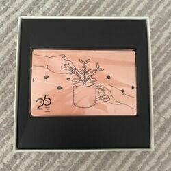 Starbucks Card Japan Limited Release By Lottery Pin Intact 25th Anniversary 157