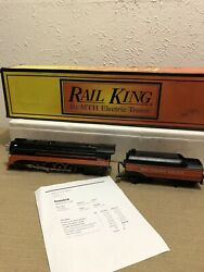Mth Southern Pacific Gs-4 Steamer 30-1119-1 Daylight Proto 1 Serviced Bcr