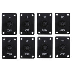 8x Boat Marine 3 Pin Up Down On/off/on Momentary Toggle Switch Panel 12v/15a