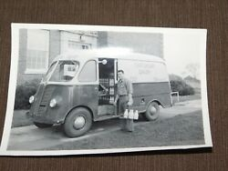 Vintage Milk Bottle Circa 1955 Chateaugay Milkman Delivery Truck Photo