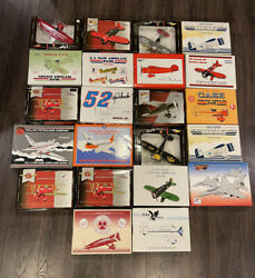 Vintage Toys Airplane Die Cast Metal Lot Of 22 Brand New Big Toy Planes Aviation
