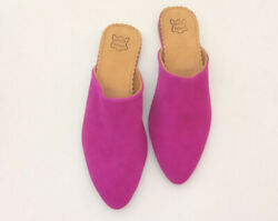 Moroccan Leather Babouche Slippers For Women Handmade Traditional Moroccan Babo