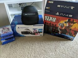 Ps4 Pro + Vr Packages + Games + 25 Gift Card And Accessories