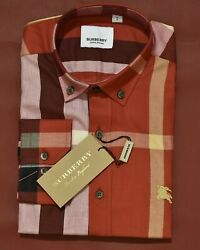 Brand New With Tags Men#x27;s BURBERRY Long Sleeve Shirt $64.90