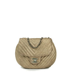 Bag In Gold Leather
