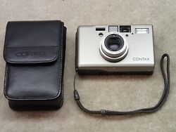 Contax T3 Film Camera Zeiss 35mm 2.8 Sonar T Nice But User Item