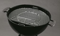 Gourmet Bbq System Hinged Cooking Grate For Weber 22 Charcoal Grills 8835
