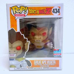 Funko Pop Animation - Dbz - Great Ape Vegeta 434 2018 Fall Convention Excl