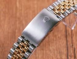 Rolex 16233/16013 62523h 18k Gold And Stainless Steel 20mm Jubilee Bracelet