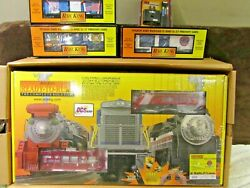 Mth Rescue 2 New York City Fire Dept. Fdny Firefighter Protosound 2.0 Train Set