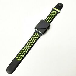 Apple Watch Series2 Nike 42mm Mp0l2j/a Series Plus With Replacement Band S09899