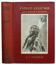 1924 Old Indian Legends Native American Myths War Custer Antique Rare Photos