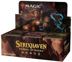strixhaven School Of Mages - Draft Booster Box - Mtg - Sealed