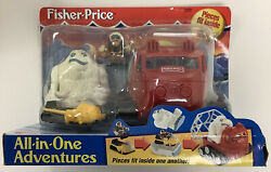 Fisher Price All In One Adventures Arctic Expedition Snow Monster Snowmobile