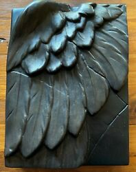 Sid Dickens Memory Tile Bb2106 Black/bronze Wing Signed - New - Le 21-113