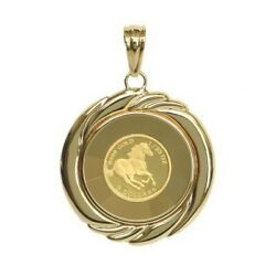 K24 Accessory Horsecoin Pendant 24 Gold Birthday Gifts Gift With Box