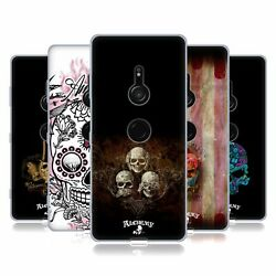 Official Alchemy Gothic Skull Gel Case For Sony Phones 1