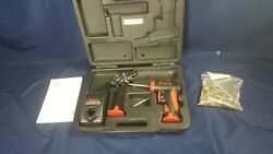 Snap-on Cts561cl Cordless Screwdriver 2 Batteries Charger W Case Xtra Bits Vg