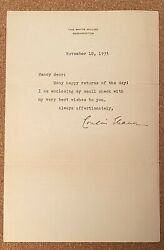Five Letters From Eleanor Roosevelt To Her Cousin Andbull First Lady Andbull Fdr 1935-1940