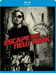 Escape From New York New Sealed Blu-ray Kurt Russell