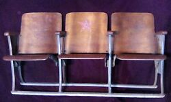 Advertising - Star Brand Shoes Theater Style Bench Seats - 1930's