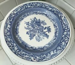 The Spode Blue Room Collection Byron Groups 10.5 Dinner Plate Made In England