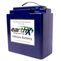 Earthx Lithium Battery With Charger Tecmate Tm275 - Etx1200